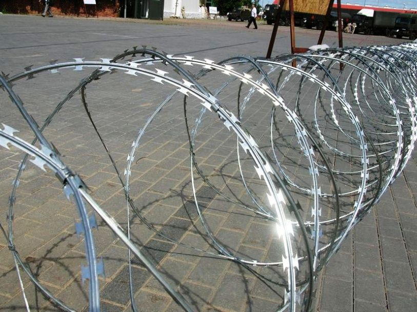 Concertina razor wire - Wire products - Wires and wire products ...